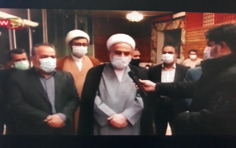 فیلم/ بازید نماینده ولی فقیه در استان از خانه  سالمندان سنندج