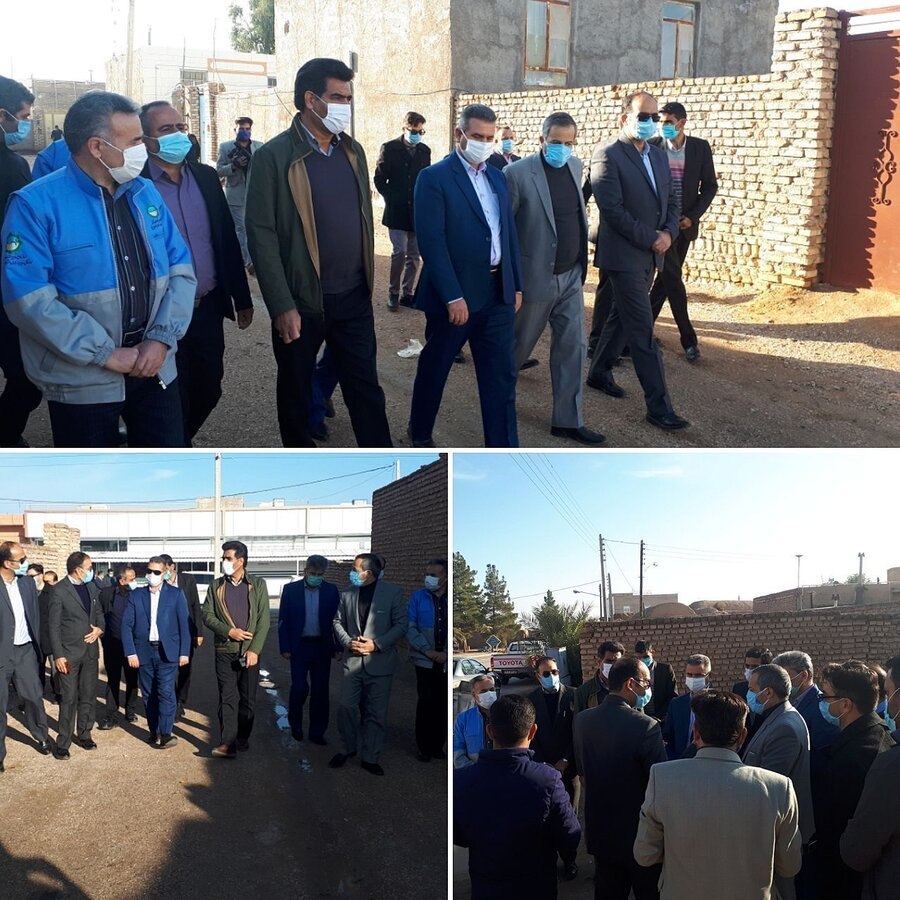 مدیر کل بهزیستی استان از منطقه  عشایری گود و طاهری عشق آباد طبس بازدید نمود