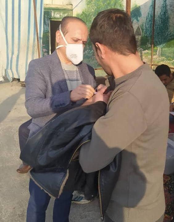 پیشوا|تزریق ۲۵۰ دوز واکسن آنفولانزا به بیماران مراکز اقامتی ترک اعتیاد