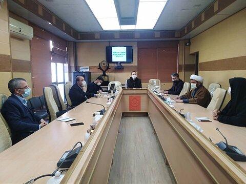 برگزاری کمیته پیشگیری از بیماری های واگیردار بهزیستی قم
