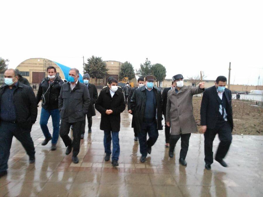 بازدید استاندار خراسان رضوی از اردوگاه نگهداری معتادان متجاهر حسنآباد مشهد