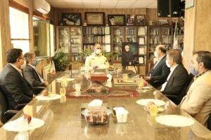 مدیرکل بهزیستی با فرماندهی ناحیه انتظامی کرمان دیدار کرد