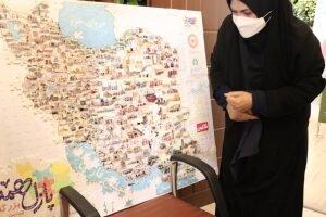 کارکنان شهرداری کرمان به پازل همدلی پیوستند