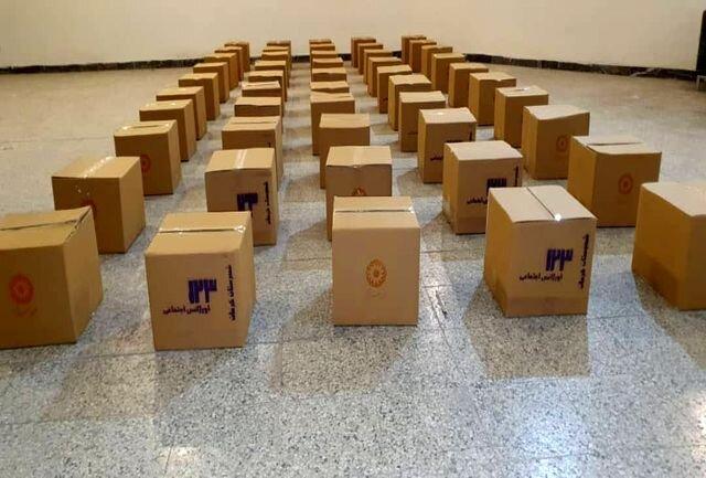 توزیع ۵۰ بسته حمایتی در بین مددجویان بهزیستی کرمان