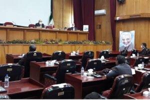 جلسه با حضور استاندار و اعضای اصلی ؛  شورای مشارکتهای بهزیستی کرمان برگزار شد