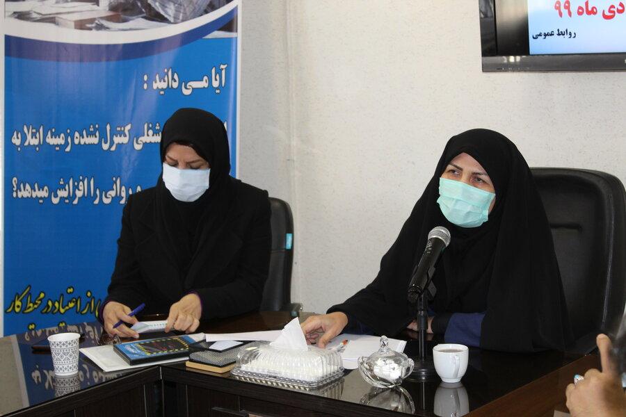 کارزار رسانهای پیشگیری از اعتیاد در محیط کار در استان کرمانشاه افتتاح شد