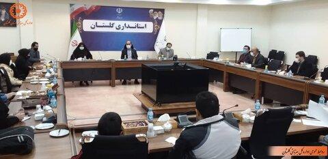 تصویر | نشست مدیران انجمن های معلولین و توانبخشی با استاندار گلستان