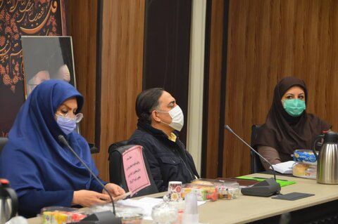 نشست هم اندیشی معاون توانبخشی استان تهران با روسای ادارات بهزیستی