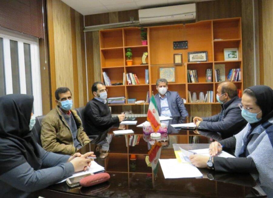 ساری| جلسه بررسی عملکرد بهزیستی شهرستان ساری در حوزه مسکن و اشتغال برگزار شد