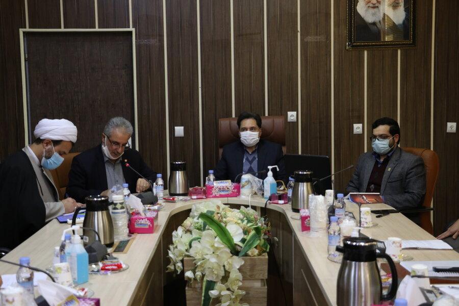 نشست شورای معاونین با حضور جانشین بسیج اساتید سپاه قدس گیلان