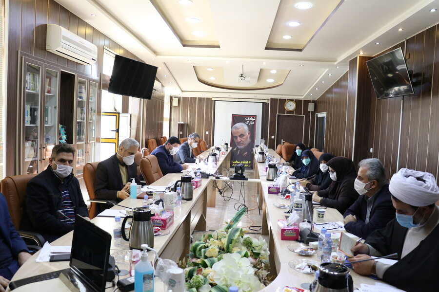 برگزاری نشست شورای فرهنگی با حضور مدیرکل بهزیستی استان گیلان