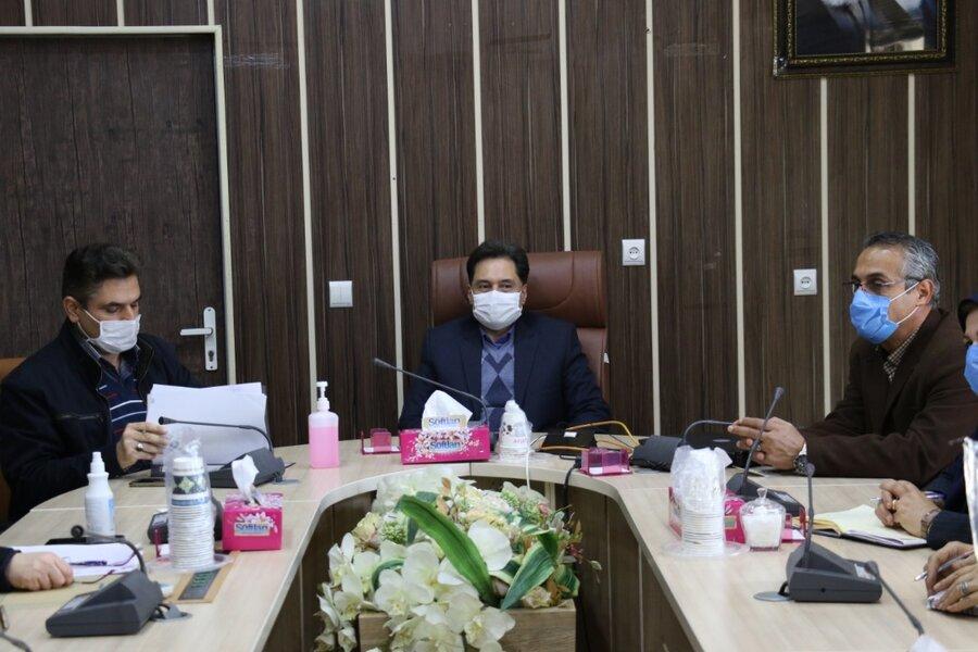 نشست مدیرکل بهزیستی گیلان با مسئولین فنی مراکز مشاوره حضوری دولتی و غیر دولتی تحت نظارت بهزیستی
