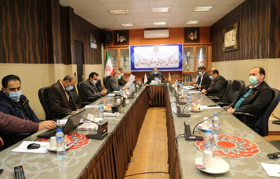 جلسه شورای اداری بهزیستی مازندران با محوریت بررسی مسکن محرومین بصورت ویدئو کنفرانس برگزار شد