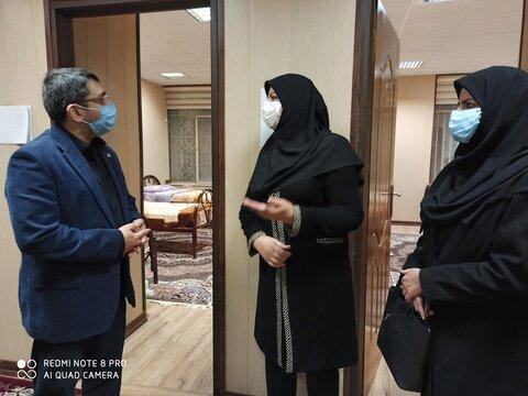 بازدید معاون وزیر و رئیس بهزیستی کشور از خانه امن، اورژانس اجتماعی و شیرخوارگاه بهزیستی یزد