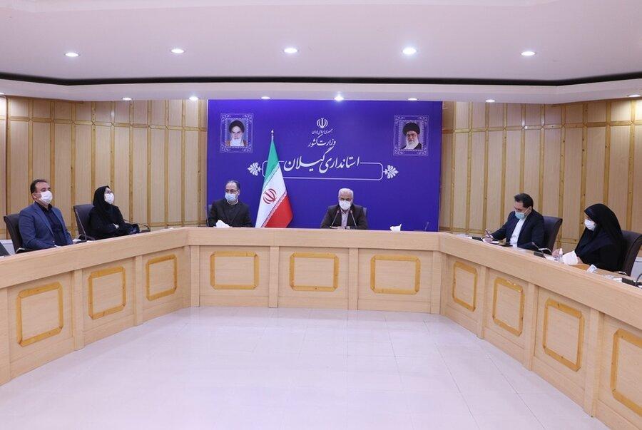 برگزاری سومین جلسه ستاد هماهنگی و پیگیری مناسب سازی استان در استانداری گیلان