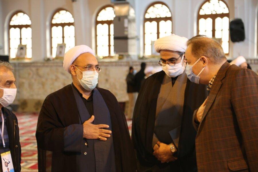 حضور مدیر کل بهزیستی مازندران در مراسم عزاداری شهادت حضرت فاطمه الزهرا (س)