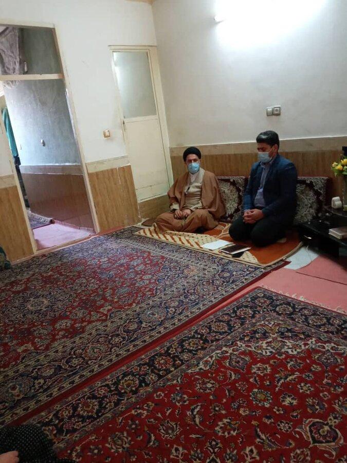 ملارد|بازدید مسئولین از منزل خانواده های دارای چند معلول