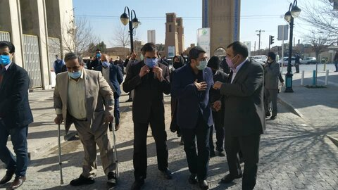 گزارش تصویری | بازدید رییس سازمان بهزیستی کشور از پروژه مناسب سازی شده هفت خوان یزد