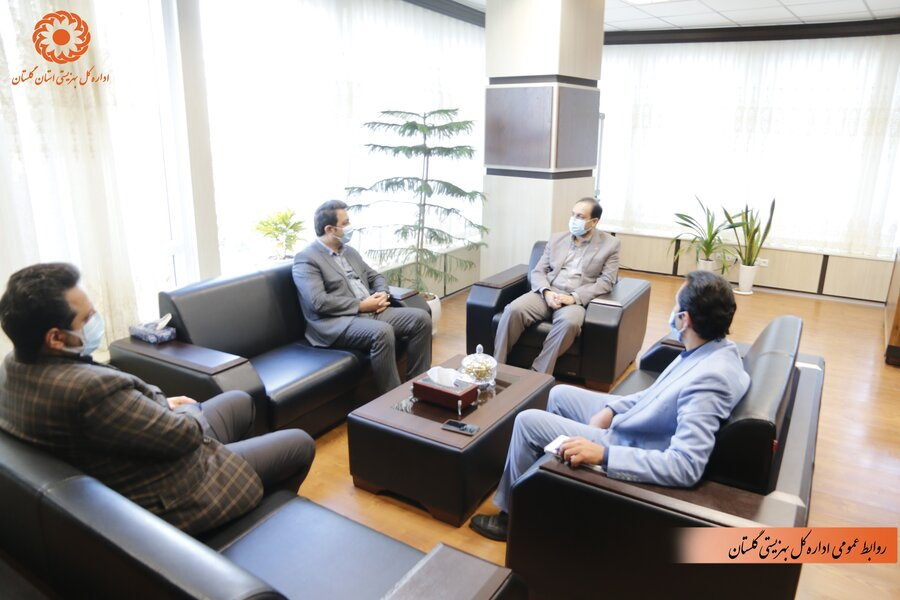 فرماندار بندرگز با مدیرکل بهزیستی گلستان دیدار کرد