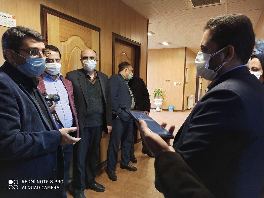 بازدید از مرکز اورژانس اجتماعی شهر یزد