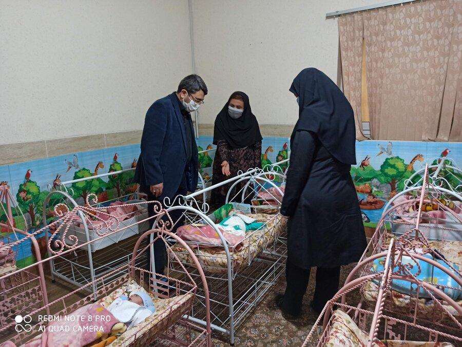 بازدید از شیرخوارگاه شهر یزد