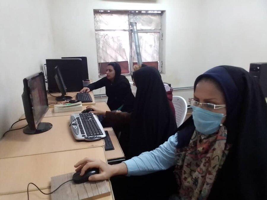 فریدونکنار| آموزش رایگان فنی حرفه ای به زنان سرپرست خانوار تحت پوشش بهزیستی شهرستان فریدونکنار