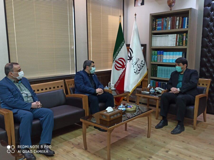 دیدار معاون وزیر و رئیس سازمان بهزیستی کشور با استاندار یزد
