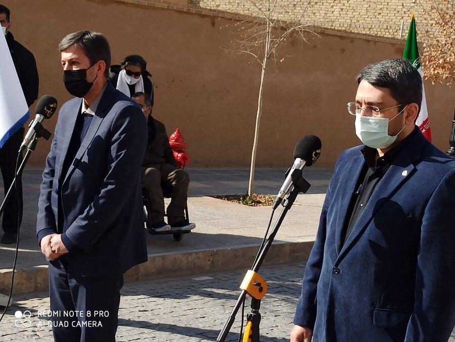شهر یزد نماد شروع مناسب سازی برای معلولین است