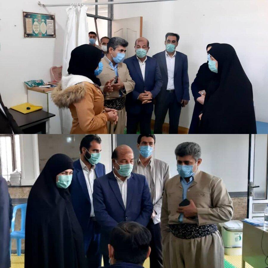 سرپل ذهاب|بازدید مدیرکل بهزیستی استان کرمانشاه از مرکز توانبخشی جسمی-حرکتی هاوژین سرپلذهاب