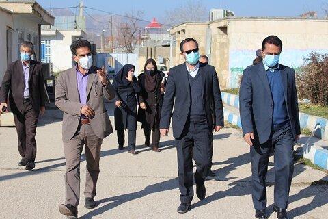 بازدید سرزده دکتر نظم ده مشاور رئیس و مدیرکل مدیریت عملکرد سازمان بهزیستی کشور از مراکز تحت نظارت بهزیستی در یاسوج