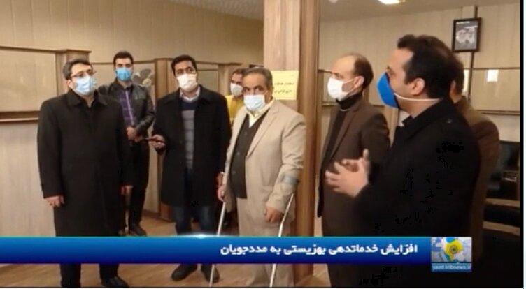 ویدیو | گزارش خبرگزاری صدا و سیما از سفر معاون وزیر و رئیس سازمان بهزیستی کشور به یزد (بخش اول)