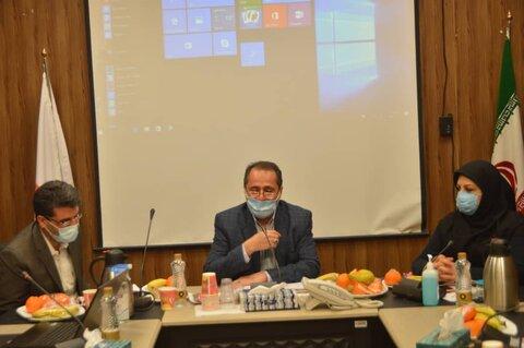 گزارش تصویری| جلسه شورای معاونین بهزیستی استان تهران برگزار شد