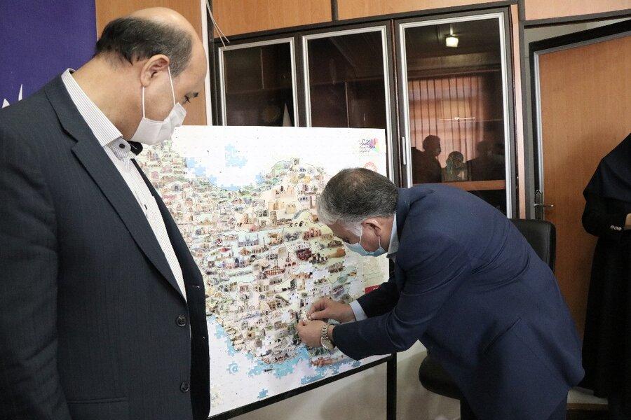 دستگاههای زیر مجموعه وزارت رفاه در کرمان به پازل همدلی پیوستند