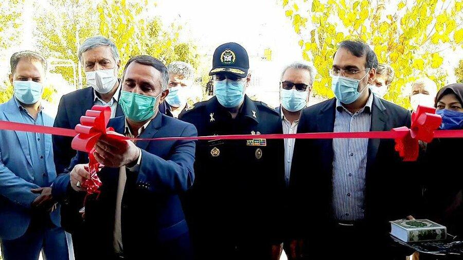 افتتاح کمپ ویژه معتادان متجاهر در سیرجان