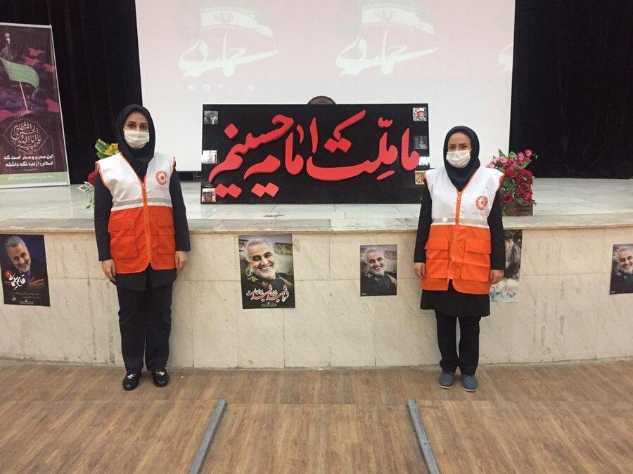ملارد|برگزاری مراسم گرامیداشت شهید سلیمانی