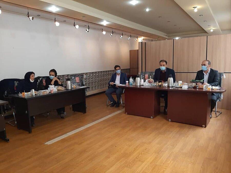 سومین جلسه case report در بهزیستی استان برگزار شد
