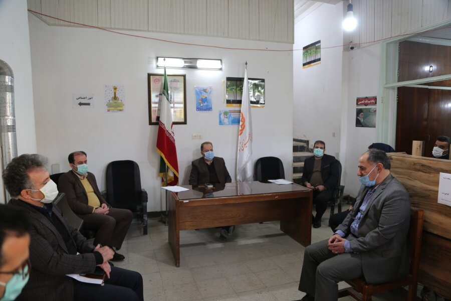 جلسه تخصصی مدیر کل بهزیستی مازندران در خصوص کاهش آسیبهای اجتماعی و فرهنگی شهرستان فریدونکنار