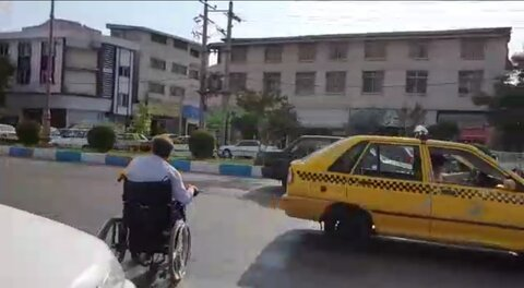 فیلم|  مستند شهر معلول