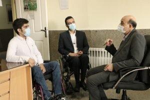 به مناسبت هفته جهانی افراد دارای معلولیت تجلیل از نخبگان صورت گرفت