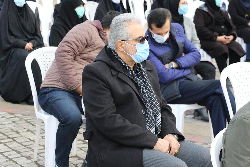 برگزاری مراسم بزرگداشت اولین سالروز شهادت سردار دلها حاج قاسم سلیمانی در بهزیستی گیلان