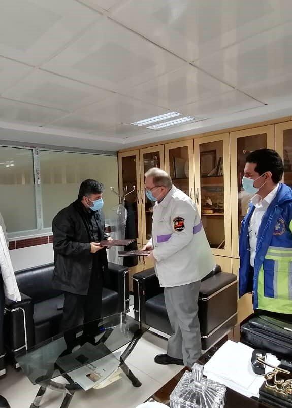 امضا تفاهم نامه همکاری فی مابین اداره کل بهزیستی مازندران با محوریت اورژانس اجتماعی 123 و مرکز مدیریت حوادث فوریت های پزشکی 115 استان