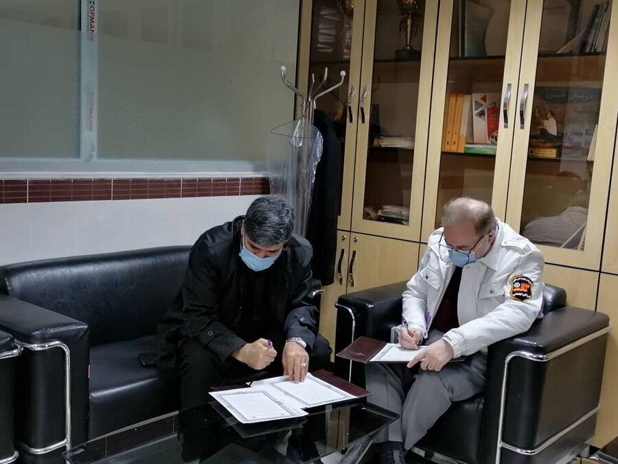 امضا تفاهم نامه اورژانس اجتماعی 123 با مرگز فوریت های پزشکی 115
