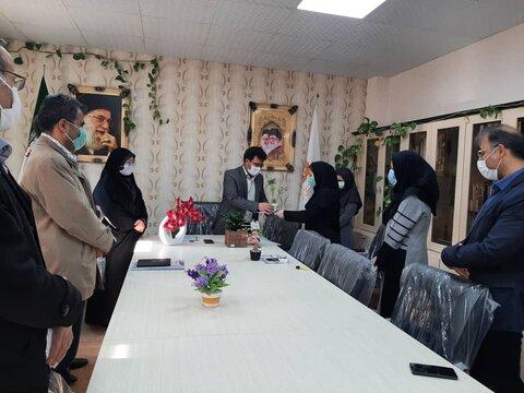 تقدیر از فرزندان شهداء شاغل در شهرستان کرج