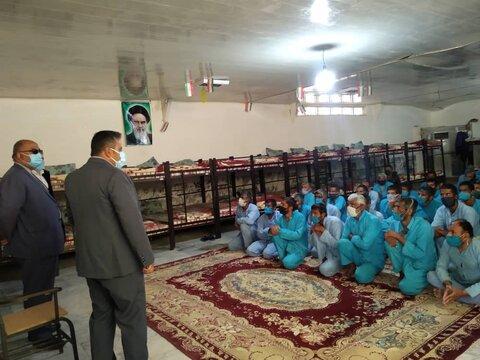 سرکشی از روند درمان معتادین متجاهر مقیم در مرکز درمان اجباری تل سیاه زاهدان
