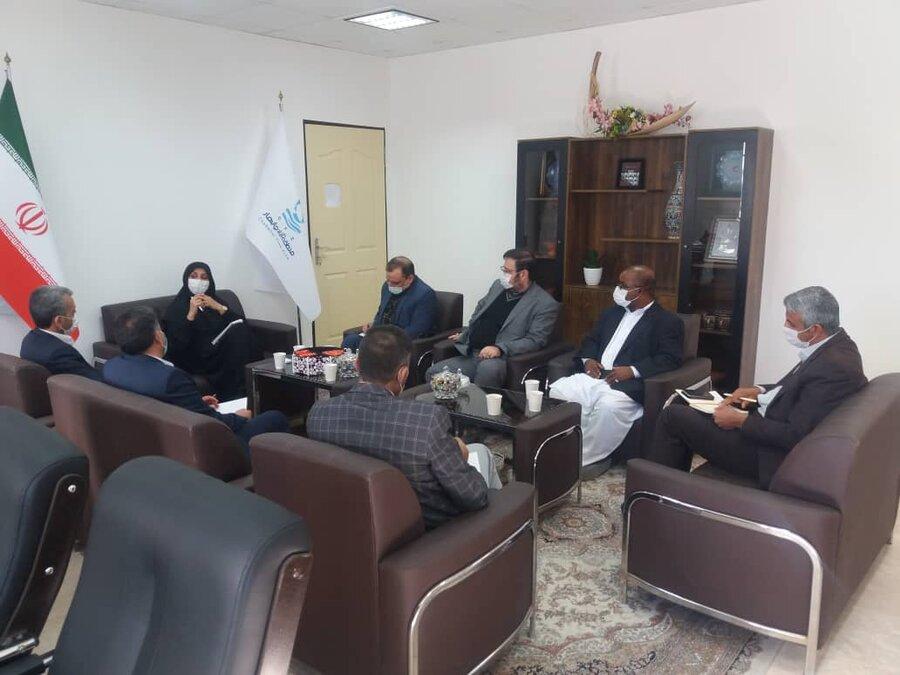 بهزیستی کشور و منطقه آزاد تجاری صنعتی چابهار در راه توسعه همکاری ها