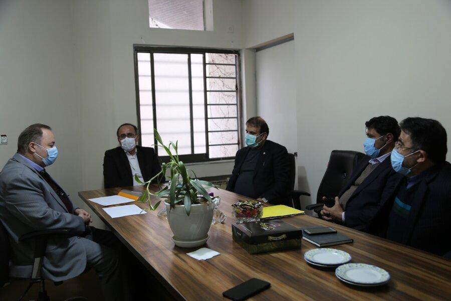 دیدار مدیرکل بهزیستی مازندران با نماینده مردم شریف بابل در مجلس شورای اسلامی