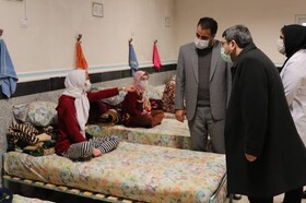 Head of SWO paid a visit from West Azarbaijan