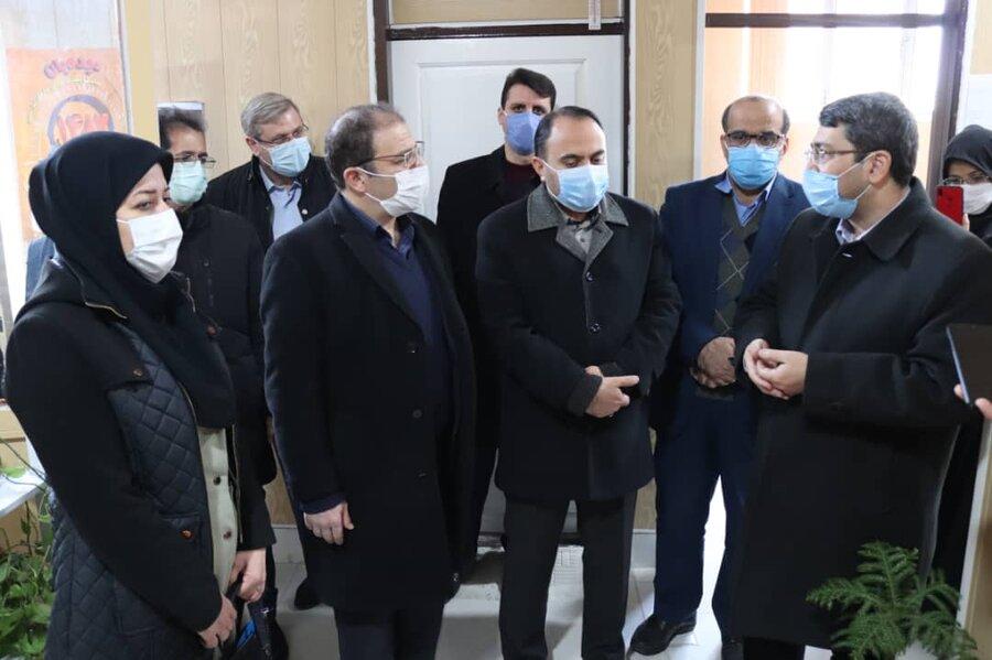 سفر رئیس سازمان بهزیستی کشور به شهرستان میاندوآب استان آذربایجان غربی