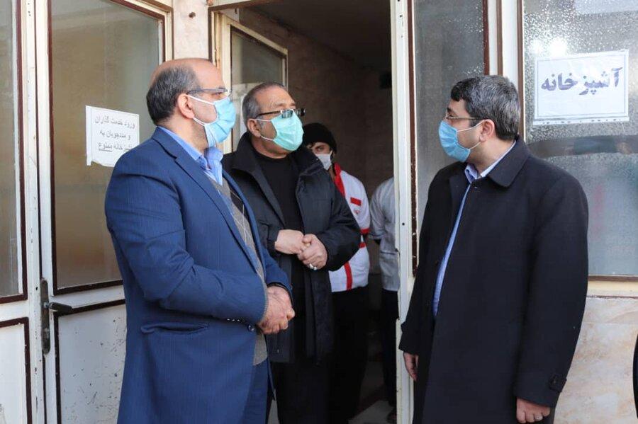 سفر دکتر قبادی به استان آذربایجان غربی