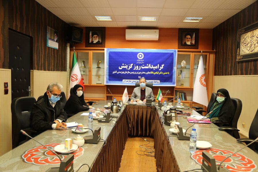 نشست معاون وزیر و رئیس سازمان بهزیستی کشور با گزینشگران سازمان بهزیستی